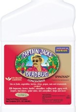 bonide Captain Jack's Deadbug Brew® contains spinosad, a product first isolated from a naturally occurring soil-dwelling bacterium. Deadbug Brew® kills bagworms, borers, beetles, caterpillars, codling moth, gypsy moth, loopers, leaf miners, spider mites, tent ca