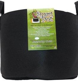 SMARTPOTS Smart Pot Black 25 Gallon w/ Handles