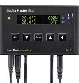 Gavita Lighting control at your fingertips! The Master controller EL1 and EL2 Gen 2 are our entry-level systems for centrally controlling large rooms with e-series fixtures. The second generation of Master controllers features improved and expanded functionality