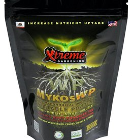 Xtreme Gardening Mykos Wettable Powder is for use on established plants. Simply mix with water and apply around the base of each plant. Also great for use in hydroponic reservoirs. Mykos is very specific species of Mycorrhizae that works faster and stronger. If you haven'