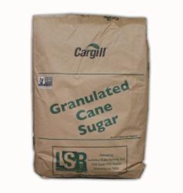 Cargill PURE WHITE CANE SUGAR 50 LB BAG