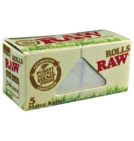 RAW RAW Organic Hemp Rolls 5 Meters/Roll