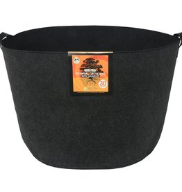 GRO PRO The Gro Pro® Essential Round Fabric Pots with handles are constructed from high-quality non-woven fabric. This fabric provides great support, while allowing air to travel into the root system. Gro Pro® Essential Round Fabric Pots feature breathable fabric