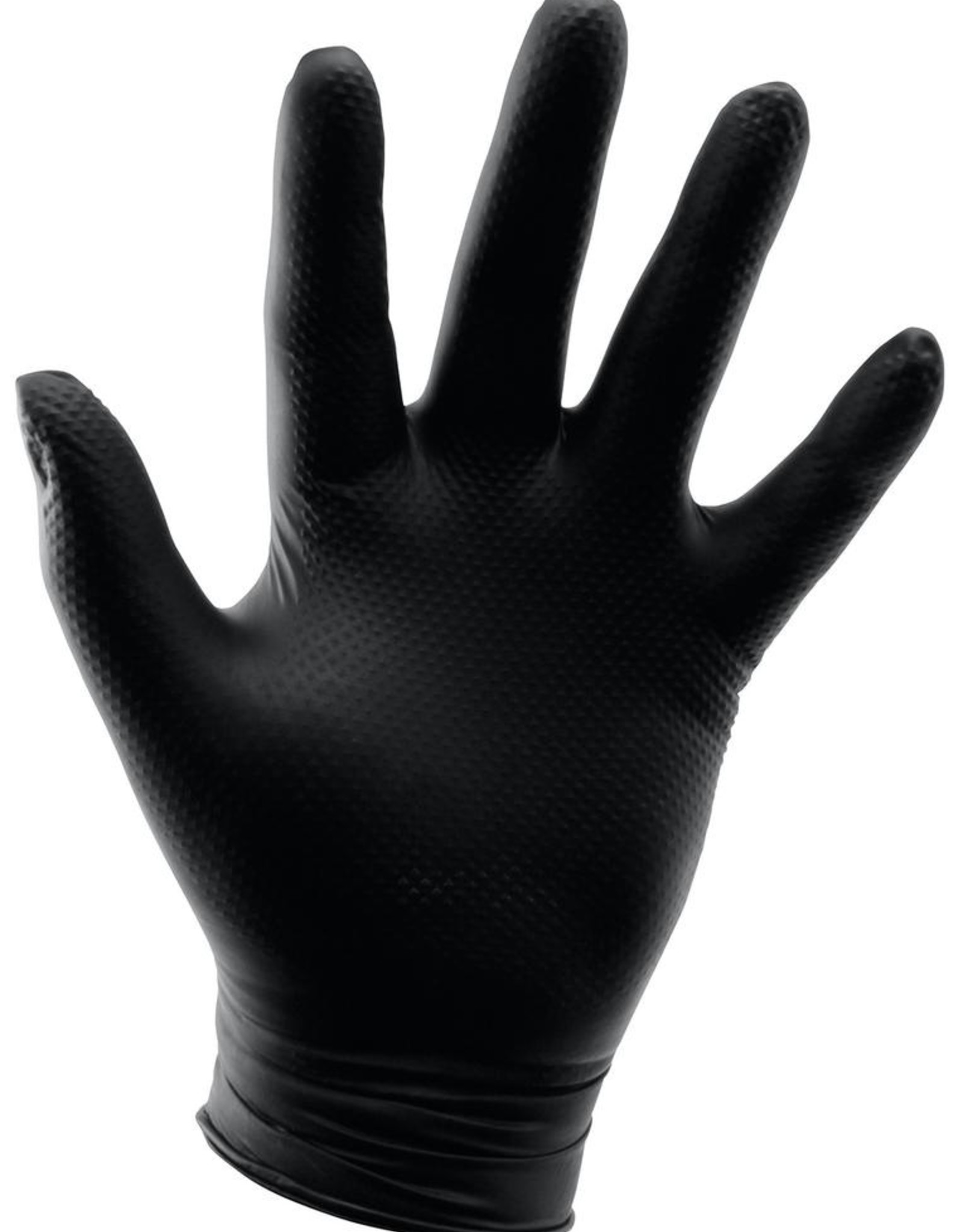 GROWERS EDGE Grower's Edge® Disposable Diamond Textured Nitrile Gloves are latex and powder free. Heavy-duty 6 mil thickness for strength and durability while still maintaining its elasticity. Grower's Edge® Disposable Diamond Textured Nitrile Gloves are ambidextrous