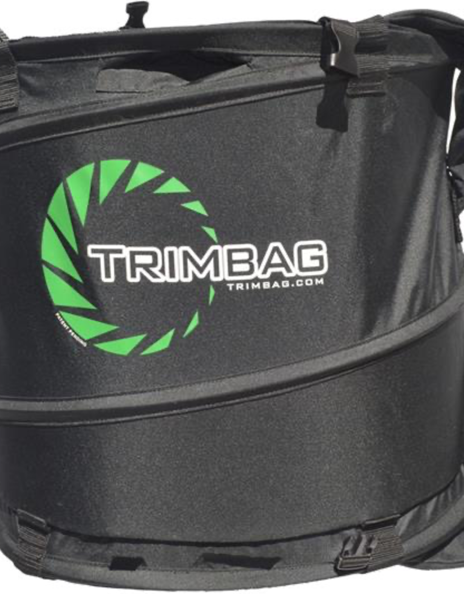 Trimbag Product Details<br /> Trimbag Dry Trimmer<br /> <br /> The Trimbag collapsible hand-held dry trimmer brings a creative new approach to trimming while maintaining the best of machine trimming standards. With user control and a variety of time saving techniques, Trimbag brin