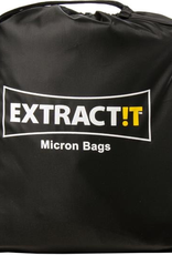 HYDROFARM Product Details<br /> Our EXTRACT!T Micron Bags are ideal for separation and concentration of plant oils and compounds. Users can blend plant material with ice water or dry ice (without water) to assist in the separation process. Once the waste has been removed