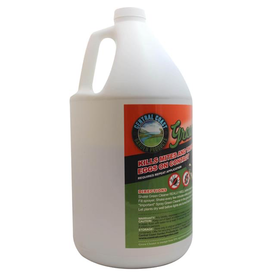 Central coast garden products Product Details<br /> Created by Growers, for Growers.<br /> Green Cleaner concentrate eliminates pests and pathogens, naturally—no respirators, gloves, or suiting up required. It treats the issue of pest control in a safe and consumer conscious manner. Best of all,