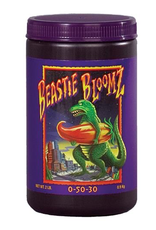 FOX FARM Product Details<br /> Beastie Bloomz is perfect for gardeners and growers who are ready to take their plants to the next level. This is a high-phosphorus soluble fertilizer formulated to support blossom development during the middle to late weeks of the floweri