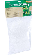 """HYDROFARM Heavy duty, long lasting trellis netting features 6"""" reach-through mesh that allows the trellis to handle more weight, remain taut, and provide strong support for growing crops.<br /> <br /> Features<br /> <br /> 6"""" Mesh<br /> 4' wide x 100' long<br /> Made from high-density polyethylene<br /> Re"""