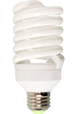 AgroBrite Compact fluorescent spiral bulbs provide the light you need while reducing energy costs. These work great in our Dayspot grow light fixture.<br /> <br /> This 26 watt, 6400K bulb is equivalent to a 130W incandescent bulb. Produces 1600 lumens and will last an average