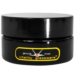 BWGS Violiv Glass Jars allow growers to attractively and discreetly bathe herbs, seeds and other botanicals in beneficial UVA, far infrared and violet rays, while simultaneously protecting the contents from destructive lights. The width and shallow depth of th