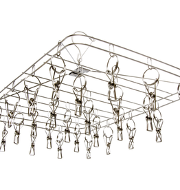 STACK!T STACK!T 28 Clip Stainless Steel Drying Rack<br /> <br /> Professional growers know the ideal position for drying their prized harvests: Hang them vertically! Flowers dried in this way will maintain their shape and aroma, which can lead to a higher quality end product