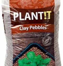 HYDROFARM GROW!T horticultural clay pebbles are made from 100% natural clay. They are clean, pH stable, and offer great aeration and drainage in hydroponics, especially in flood and drain, deep water culture, and drip feed systems. Due to their unique structure and