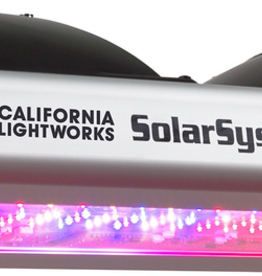 California Lightworks SOLAR SYSTEM 550<br /> <br /> The SolarSystem 550 is a game changer for LED grow lights. The SS 550 is a high power veg and bloom light that draws 400 watts and will replace a 600 watt HPS light. The SS 550 features fully programmable spectrum control which enhances