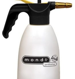 mondi Superior quality, small capacity tank sprayer designed for use in the garden or home. Designed for maximum comfort, efficiency, safety and ease of use. High-grade plastic construction that provides long life and easy maintenance. Brass nozzle adjusts spra