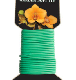 GROWERS EDGE Use Grower's Edge® Soft Garden Plant Tie with UV inhibitors to attach plant stems to stakes or support racks easily without damaging your plants. It is great for indoor or outdoor use. The Grower's Edge® Soft Garden Plant Tie is reusable and long lasting.