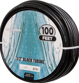 HYDROFARM Use our sturdy black vinyl tubing, which is FDA-approved and BPA-free, for your irrigation systems and tanks, and to complete your own hydroponic systems. The material is easy to cut to size, but will remain strong and reliable. Choose from six different