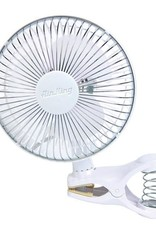 """AIR KING The 6 inch clip on fan has impact resistant plastic grills with chemical resistant polypropylene blade, 2-speed and 1/300 HP motor. <br /><br />The 12"""", 16"""" and 18"""" fans oscillate 90° or can be locked in non-oscillating position. They also have powder coated steel"""