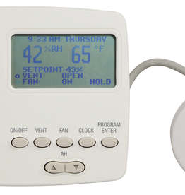 QUEST Quest DEH 3000R remote wall mounted digital control for Quest ventilating dehumidifiers. Works with Quest Dual 215 #700831 only.