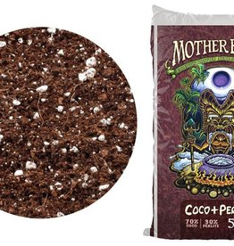 MOTHER EARTH Mother Earth® Coco + Perlite Mix is an RHP Certified natural plant growth media that is a great alternative to potting soil and other traditional growing medias. Coconut coir is made from the fiber of coconut husks and is an alternative to peat-based medi