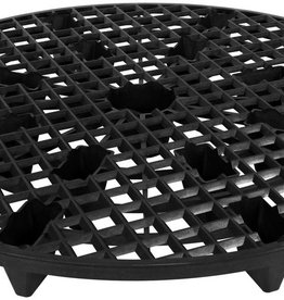 GRO PRO Gro Pro® NX Level® Plant Elevators are specially designed to help raise your fabric or plastic pot out of the bottom of a saucer. This elevates the pot out of potential excess water that gathers in the saucers. This can be crucial in preventing root rot,