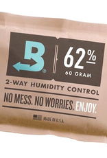 Boveda Boveda 62% RH, 8 grams, case of 100<br /> <br /> The 67-gram Boveda is great for curing/storing up 1 pound of flower for 2-4 months in a container frequently opened/closed and up to a year in containers rarely opened. As the only patented, lab-quality precision 2-way