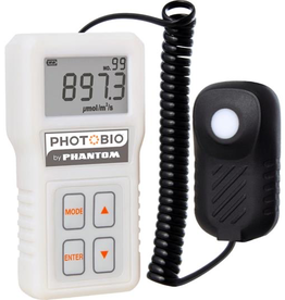 PHOTOBIO Product Details<br /> All new for 2020, the Advanced Quantum PAR Meter provides accurate and cost-effective measurement for all light sources used to grow plants.  The PHOTOBIO by Phantom Quantum PAR meter is designed to measure PAR (Photosynthetically Active R
