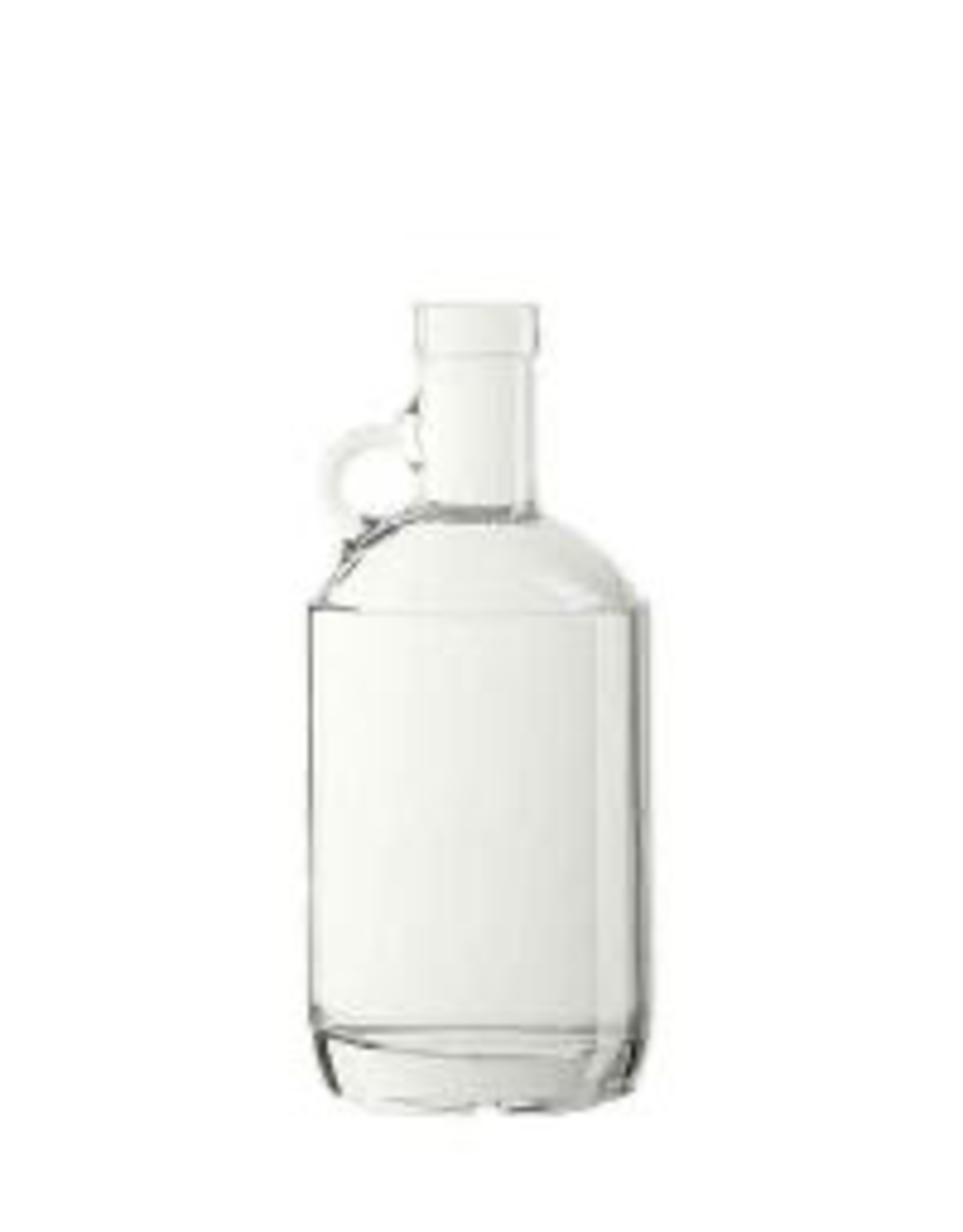 LD CARLSON Accepts 21.5mm diameter cork.<br /> Bottle Specs:<br /> Color: Flint<br /> Style: Round<br /> Finish: Bartop<br /> Bottom: Flat Bottom<br /> Height: 8.837 in<br /> Label Panel: 5.5 in<br /> Unit Pack Size : 12 Bottles Per Case