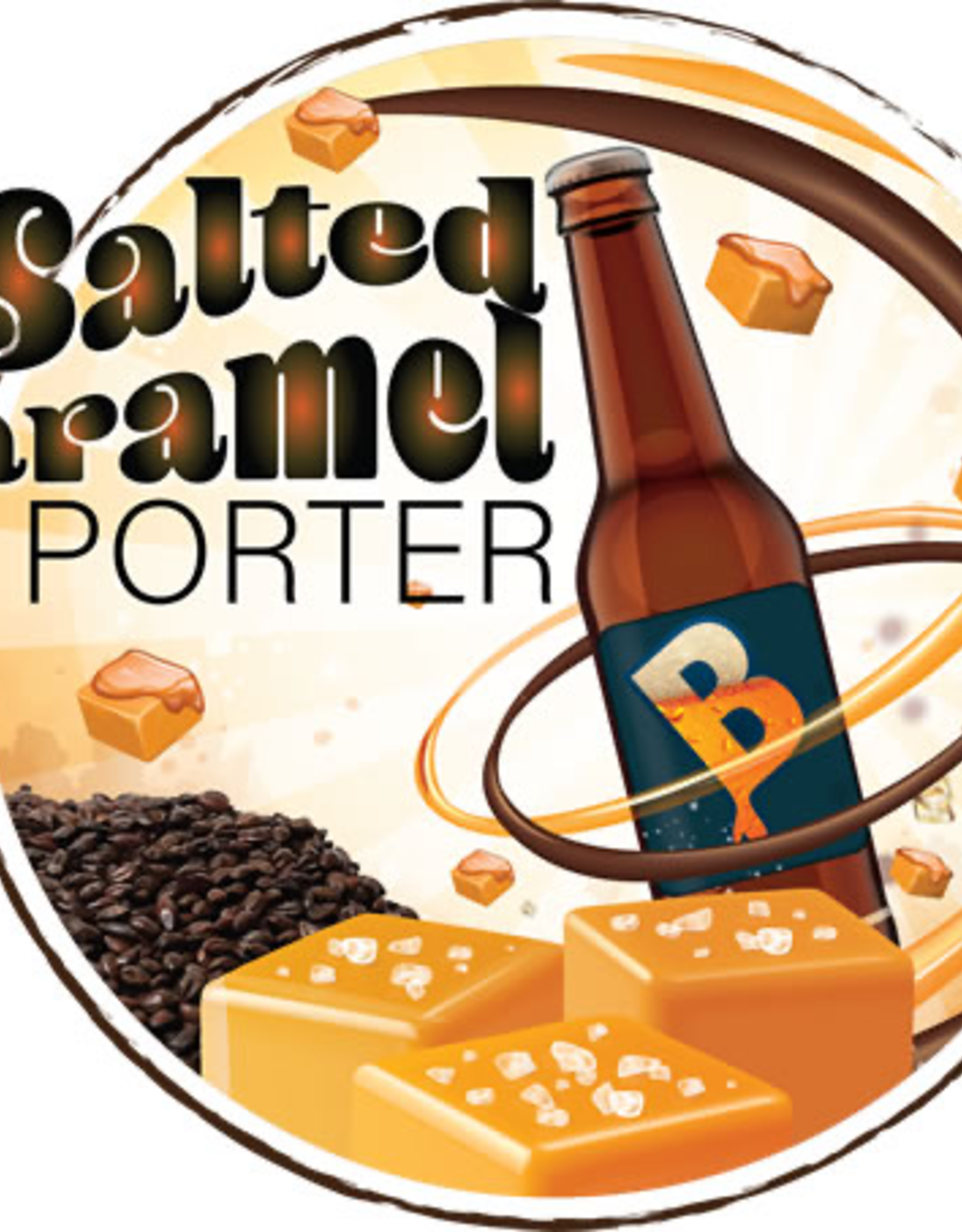 BREWERS BEST Brewed with select GoldSwaen specialty malts to create a rich, malty base with notes of biscuit, toffee & caramel. The addition of brewer's sea salt & natural caramel flavoring craft a delicious, dessert-like porter that will will complement any holiday f