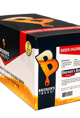 BREWERS BEST Munich and chocolate malts combine to create a darker, maltier version of its lighter counterpart, Hefeweizen. Amber-brown in color yet medium-bodied with a slightly sweet, bready flavor. A specialty wheat yeast produces the characteristic phenols found i