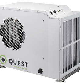 QUEST Quest Dual 150 was designed to be placed overhead and out of the way, but can also be placed at ground level for plug and play operation. The Dual 150 was designed to provide improved value while still offering solid performance and energy efficiency. The
