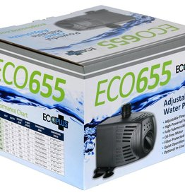 ECOPLUS This line of adjustable water pumps offers an energy efficient magnetic ferrite rotor with a ceramic shaft, vastly improving GPH and head pressure that is needed in hydroponic systems, fountains and more. These pumps are manufactured with a built-in flow