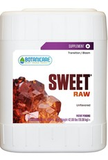 BOTANICARE Sweet® Raw is a flavorless, all-natural mineral supplement that meets the metabolic demands of your plants throughout their life cycle. All Sweet® flavors are scientifically formulated with carbohydrates, organic acids, vitamins and amino acids. Sweet® he