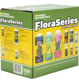 GENERAL HYDROPONICS Your favorite 3-part nutrient system with all the supplements you need to get started in one box. This box contains: 16 oz FloraMicro®, FloraGro® and FloraBloom®, 8 oz FloraBlend® and Liquid KoolBloom®, 4 oz FloraKleen®, 1 oz RapidStart®, Floralicious® Pl