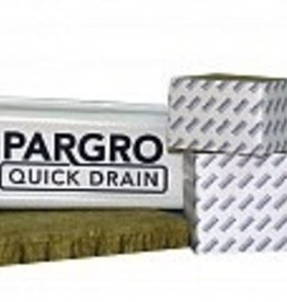 PARGRO Pargro is the leader among affordable horticultural rockwool. Made right in the Grodan factory, so you can be assured of a high quality product at a great price.<br /> <br /> Drainage<br /> <br /> Driest value-priced rockwool on the market<br /> 14% drier than competitor blocks<br /> Value