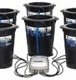 ACTIVE AQUA The Root Spa is a Deep Water Culture system. This 5 gallon bucket system is so simple yet grows large plants efficiently. After a very short time, you will realize the advantage of the simplicity of this uniquely easy-to-use, inexpensive, and forgiving sy