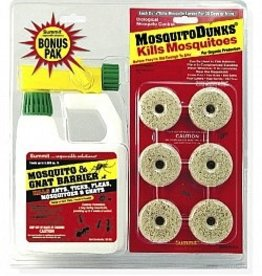 SUMMIT Mosquito Dunk Gnat Twin Combo Pack