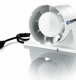 """Blauberg Blauberg 6"""" Axial Inline Intake/Exhaust Fan, 155 CFM"""