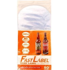 Fast label FastLabel 22oz Beer Label (50 pack)