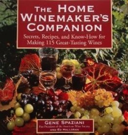 LD CARLSON THE HOME WINEMAKER'S COMPANION