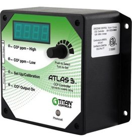 "TITAN CONTROLS Controls and monitors CO2 from 0 to 5000 parts per million (PPM). CO2 enrichment or CO2 exhaust features. Easy to set-up and operate. Plastic enclosure resists dust, rust and moisture. 5 Amps maximum/120 Volts/60 Hz.<br /> <iframe width=""560"" height=""315"" src="""
