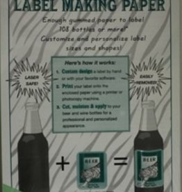 LD CARLSON GREEN LABEL MAKING PAPER