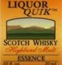 LIQUOR QUIK HIGHLAND MALT  SCOTCH WHISKEY SMOKED LIQUOR QUICK ESSENCE