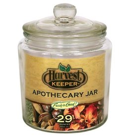 Harvest Keeper Harvest Keeper Glass Storage Apothecary Jar w/ Sealed Lid - 29oz