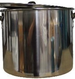 LD CARLSON 42 QT STAINLESS STEEL BREWING POT WITH LID