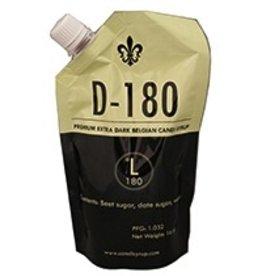 SIMPLICITY D180 BELGIAN CANDI SYRUP (180 LOVIBOND) 1 LB POUCH