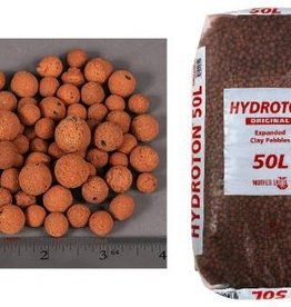 SUNLIGHT SUPPLY The original Hydroton® brand expanded clay is a unique, lightweight expanded clay aggregate made in Germany. This natural clay is mined, formed into pellets, then kiln fired at high temperatures to cause the clay to expand into tough, lightweight balls. C