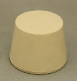 LD CARLSON #6.5 SOLID RUBBER STOPPER