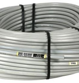 Netafilm Netafim UV White Polyethylene Tubing 16 mm (.52 in ID x .62 in OD) - 500 ft