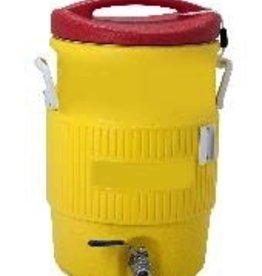 IGLOO IGLOO COOLER MASH TUN - 10 GAL BULKHEAD, BALL VALVE PW#4102MLT